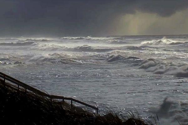 Quand l'Océan Atlantique se met en colère...