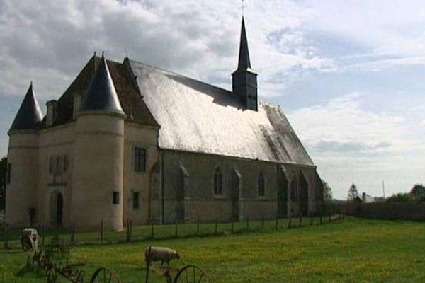L'église de Romilly-sur-Aigre, décrite dans le roman d'Emile Zola