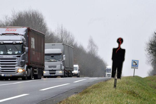 La RCEA est la route la plus accidentogène de l'hexagone. Une mise en  2x2 voies est prévue pour 2021 dans l'Allier.