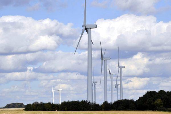 Le parc éolien de Fruges est le plus important en Nord Pas-de-Calais.