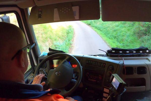 Dans la Manche, les camions poubelles participent à la cartographie de la couverture mobile du département