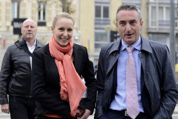 Stéphane Ravier et Marion Maréchal Le Pen.