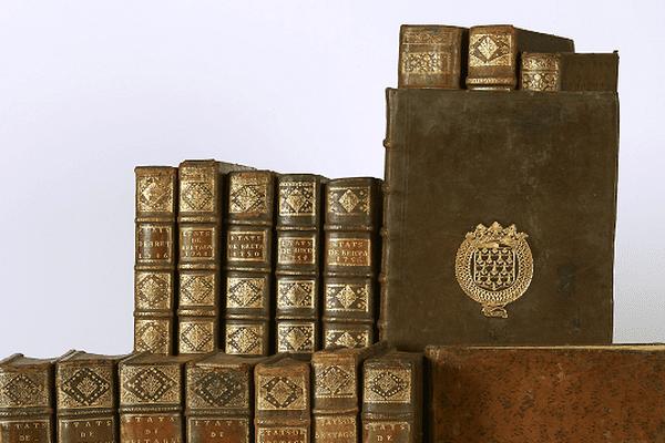 Les manuscrits des Etats généraux de Bretagne de 1730 à 1774.