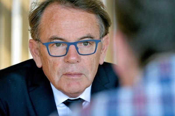 Christian Teyssedre est le maire de Rodez (Aveyron) depuis 2008.