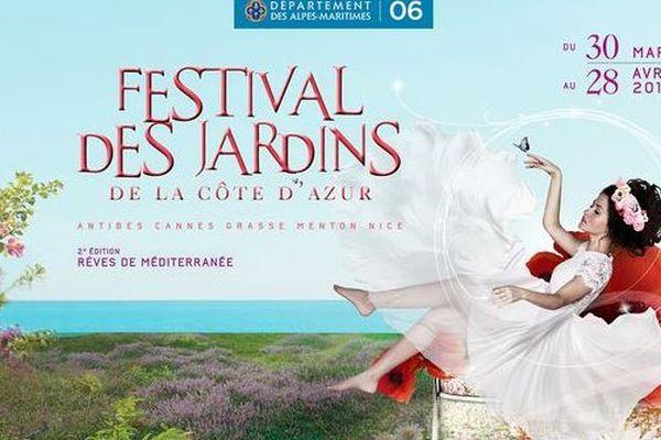 Le Festival des jardins de la Côte d'Azur c'est du 30 mars au 28 avril