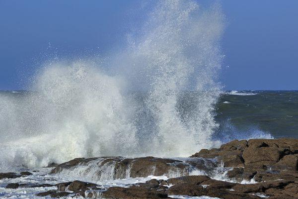 Le littoral retrouvera un horizon éclairci dans l'après-midi de ce lundi, mais au prix du vent...