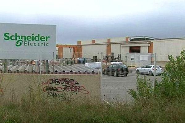 Fabrègues (Hérault) - l'entreprise Schneider Electric - septembre 2015