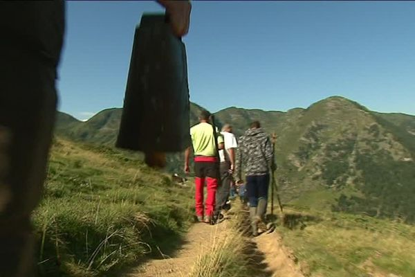 Des éleveurs en battue pour éloigner l'ours Goiat (image d'archive)