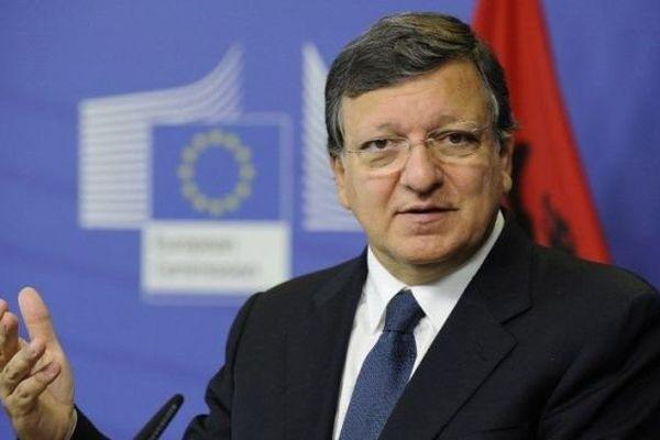 Jose Manuel Barosso, président de la Commission européenne