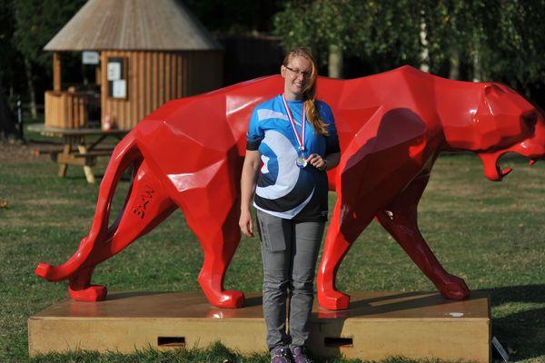 Floriane Quenehen championne de France de tir 3D