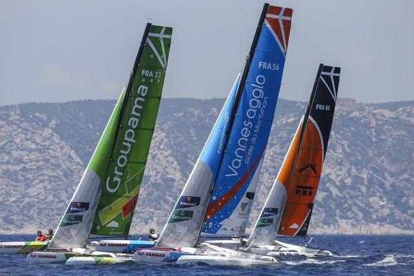Les bateaux du Tour de France à la voile