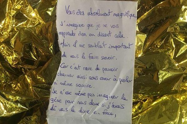 Le poème écrit durant les intempéries dans la nuit du 1er au 2 mars à Saint-Jean-de-Védas.