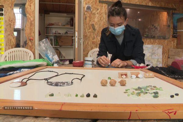 Conception de bijoux pour le financement de nouvelles actions de nettoyage