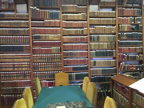 La bibliothèque du 511e Régiment du Train d'Auxonne