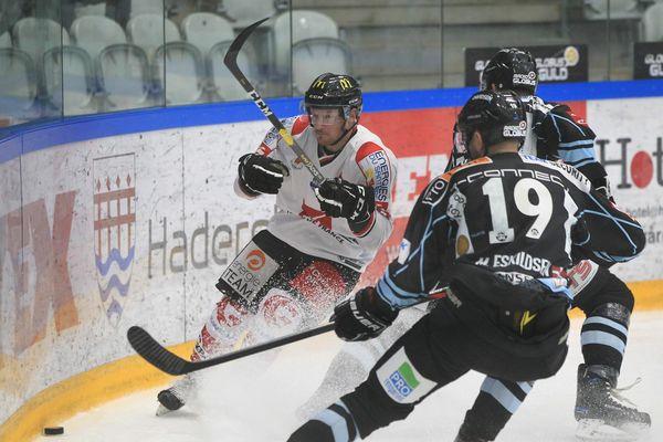 SønderjyskE contre les Gothiques, le 16 novembre à Vojens, au Danemark.