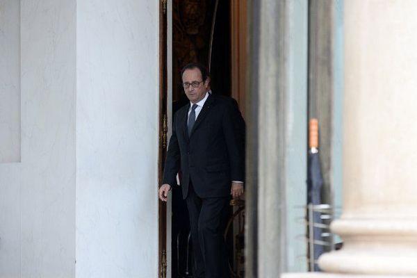 François Hollande le 28 septembre 2016 à l'Elysée
