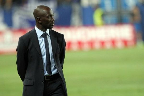 ILLUSTRATION - Claude Makelele, entraîneur du SC Bastia