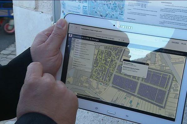 Toussaint : La ville de Bourges lance une application pour géolocaliser les sépultures