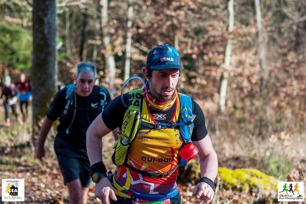 Le coureur de fond haut-rhinois, Nicolas Jullion, va courir 160 kilomètres pour venir en aide aux plus démunis, de Colmar à Nancy, le dernier weekend du mois de janvier 2021.