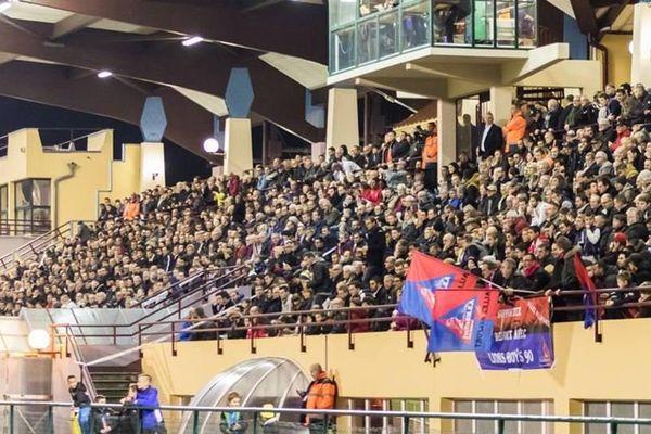 Les supporters étaient nombreux à s'être déplacé pour la rencontre qui opposait Belfort à Luçon, club de Vendée.