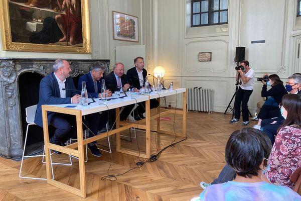 Présentation du projet de la nouvelle cité de la gastronomie de Lyon - 2 septembre 2021
