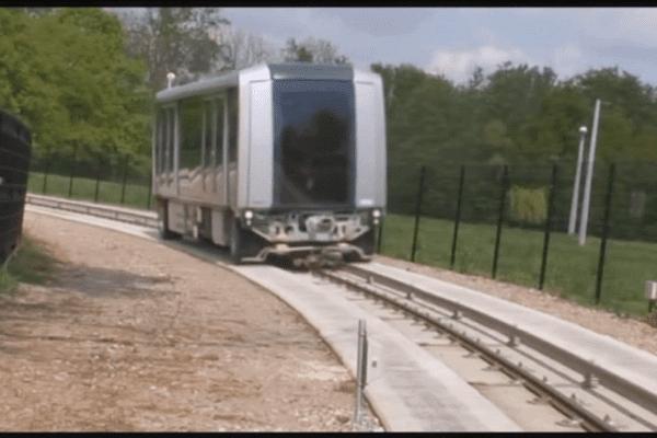 Les futures rames de la lgne b du métro rennais
