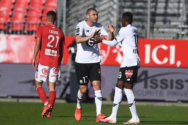 Malgré le bon match de Yilmaz, Lille s'est incliné sur la pelouse de Brest (3-2)