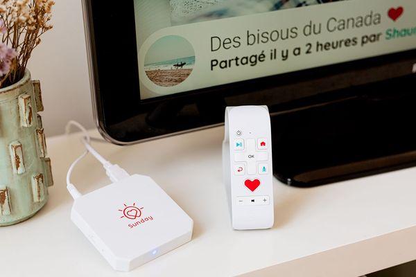 La Sunday box, développée par la start-up bordelaise Sunday