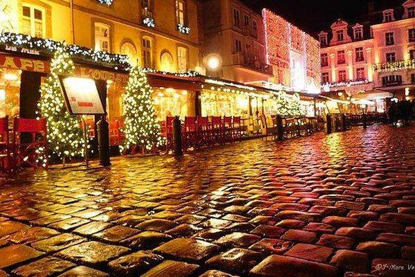 Des lumières de Noël à Saint-Malo