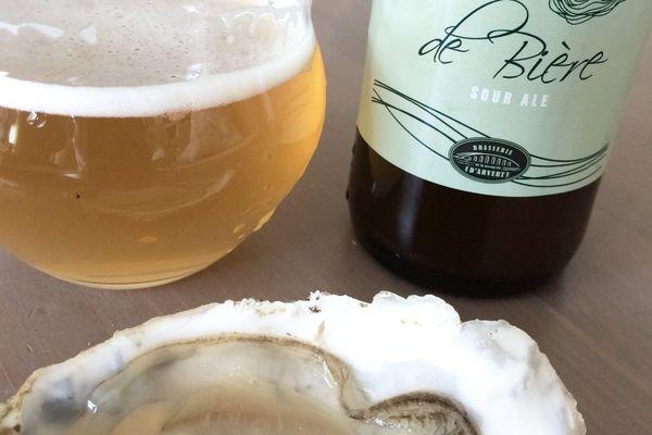 """Avec sa """"Fine de bière"""", la brasserie de la presqu'île d'Arvert rend hommage aux huitres du bassin"""