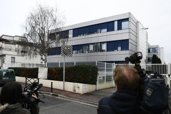 Le QG du Front National à Nanterre en février 2017.