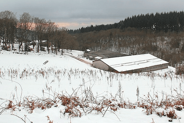 La Montagne Noire sous la neige - archives