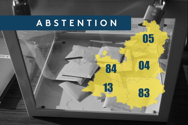 L'abstention au second tour des municipales en Provence-Alpes.
