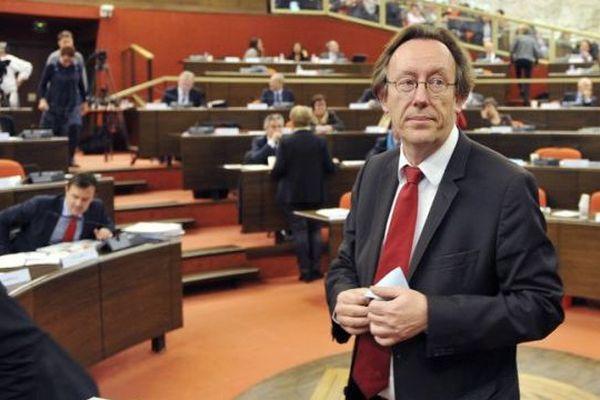 Jean-Patrick Gille député PS de la 1ère circonscription d'Indre-et-Loire - décembre 2015