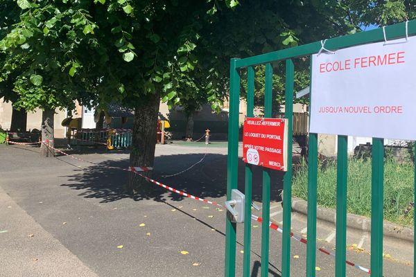 Un cas de Covid a entraîné la fermeture de l'école maternelle Montjovis de Limoges le 28 mai 2020.