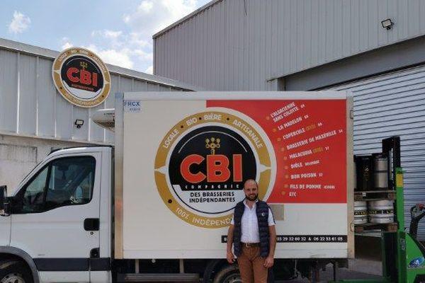 La Compagnie des Brasseries Indépendantes prête à livrer de la bière régionale dans les cafés et les restaurants