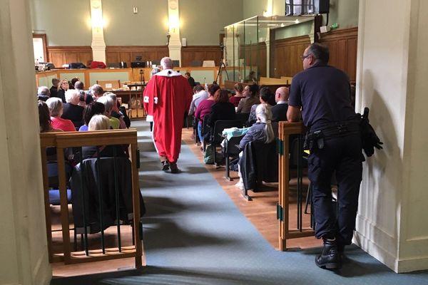 Salle de la Cour d'Assises de la Haute-Vienne à Limoges