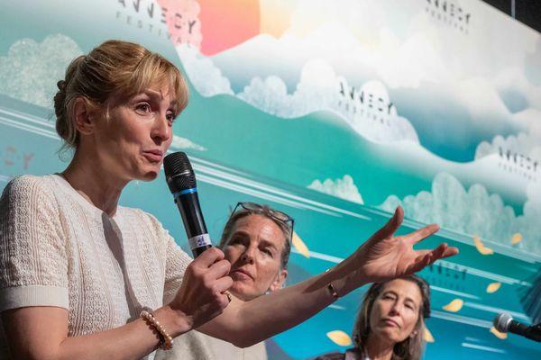Julie Gayet était membre du jury de l'édition 2019 du festival international du film d'animation d'Annecy.