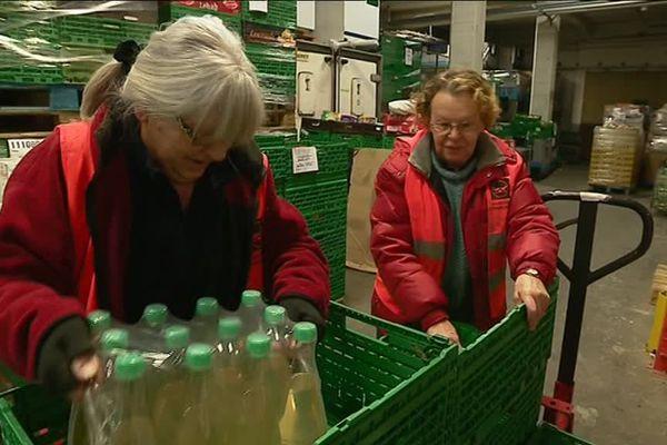 En Franche-Comté, la Banque alimentaire fonctionne grâce à 250 bénévoles.