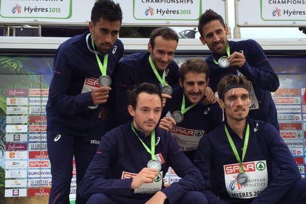 Yohan Durand vice chamion d'Europe par équipe de cross country