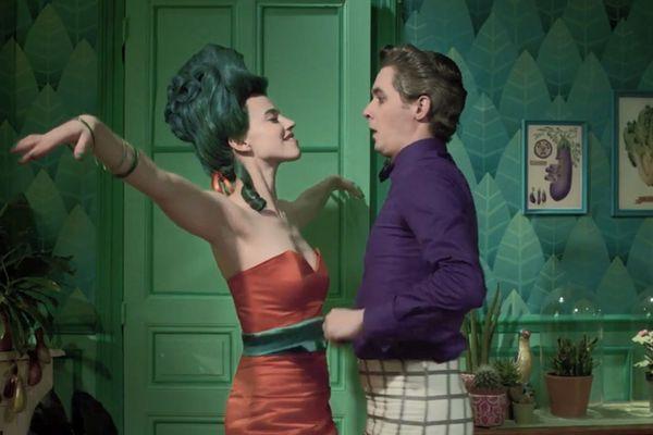 Mademoiselle Carotte saura-t-elle convaincre Monsieur Mongoût de devenir végétarien ??