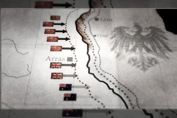 Vimy 1917 - la ligne de front