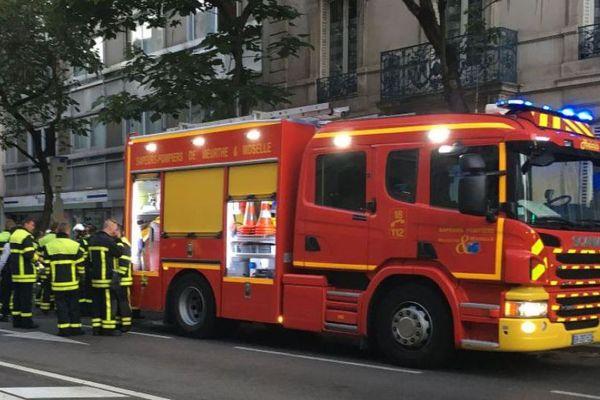 Les sapeurs pompiers en intervention
