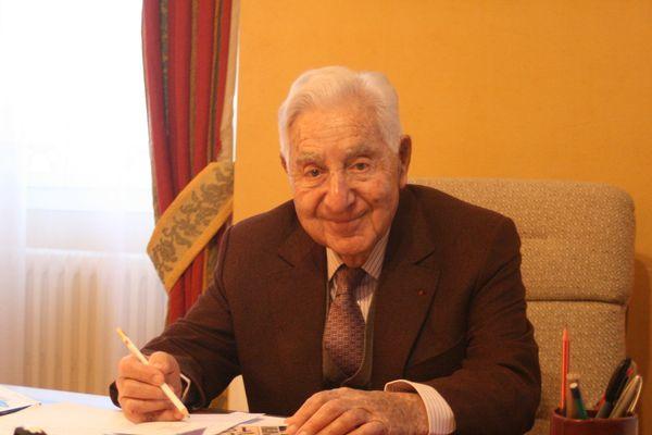 André Trigano, maire sortant de Pamiers (Ariège)