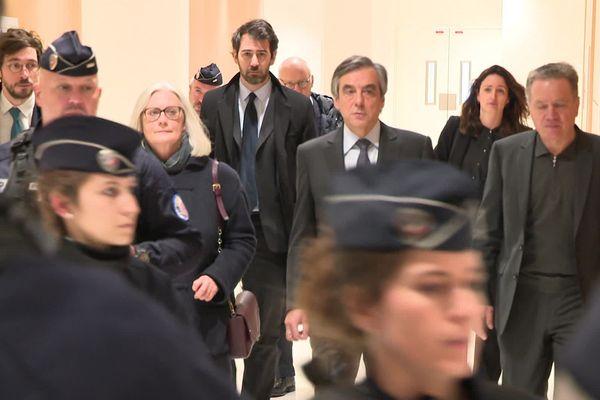 Le procès des époux Fillon devrait se poursuivre jusqu'au 12 mars.