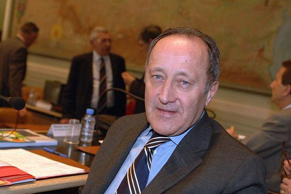 Jean-Louis Chauzy, président du Ceser d'Occitanie. Photo : MaxPPP