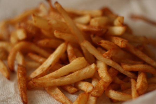 Des frites croustillantes
