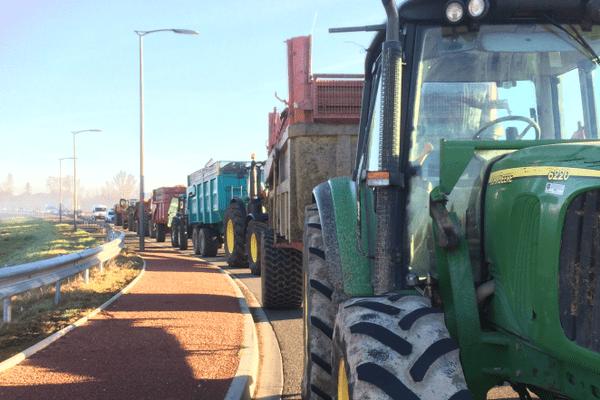 Les tracteurs arrivent en nombre