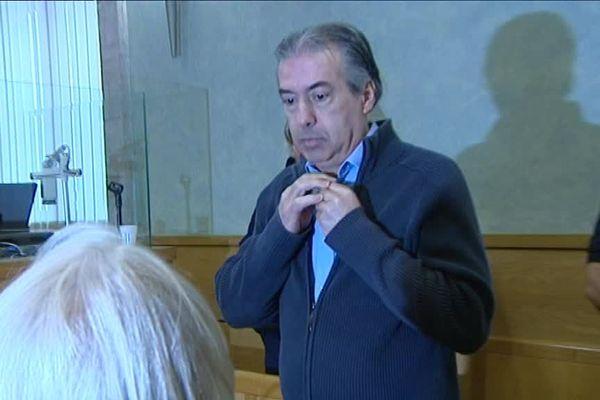 Jean-Louis Cayrou lors de son premier procès