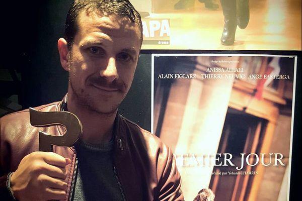 """""""Premier Jour"""", réalisé par Yohann Charrin, sur un scénario d'Ange Basterga a recu le prix du meilleur court-métrage au Festival de Cognac 2016"""